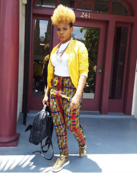 Yemi Alade steps out with blonde hair