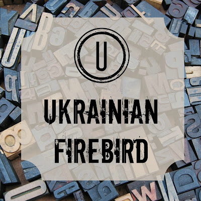 Ukrainian Firebird - Blogging through the Alphabet on Homeschool Coffee Break @ kympossibleblog.blogspot.com