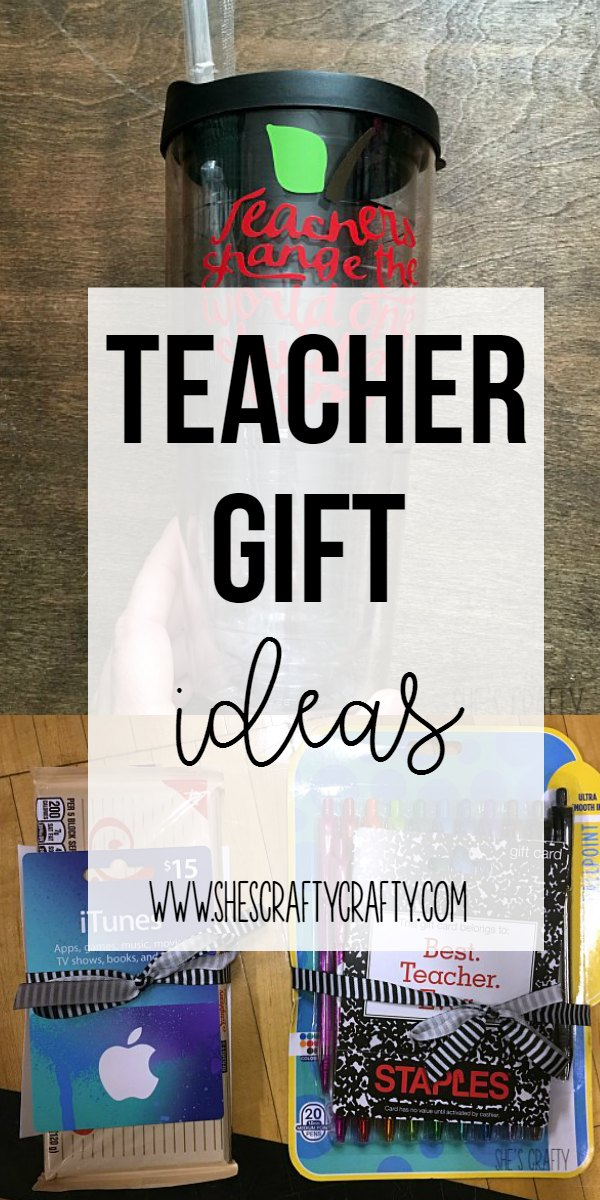 teacher gift ideas, simple gifts teachers