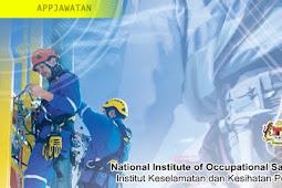 Jawatan Kosong di Institut Keselamatan & Kesihatan Pekerjaan Negara (NIOSH)