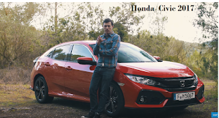 Honda Civic 2017 car video review