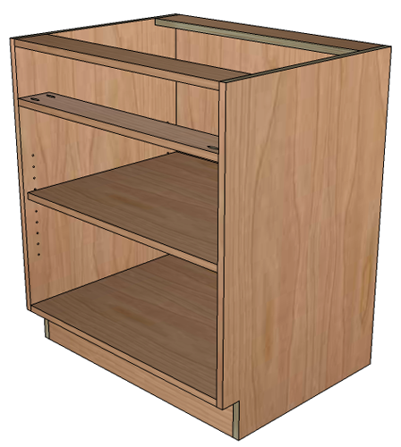 How To Build Frameless Base Cabinets