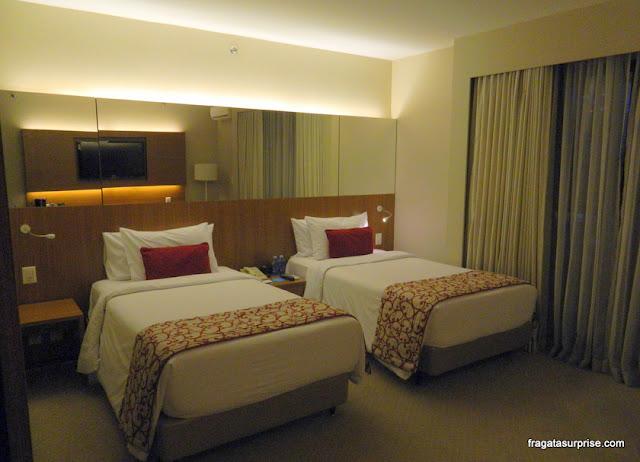 Apartamento do Hotel Radisson Blu São Paulo