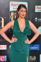 Laxmi Rai in a Deep neck Beautiful Green Gown Cute Actress Laxmi Rai ~  031.JPG