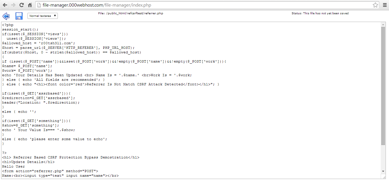 You Can See The Source Code Of This Page