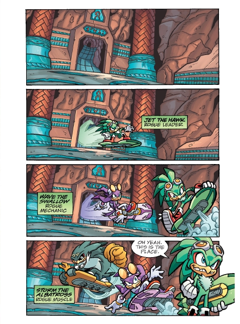 Read online Sonic Comics Spectacular: Speed of Sound comic -  Issue # Full - 143