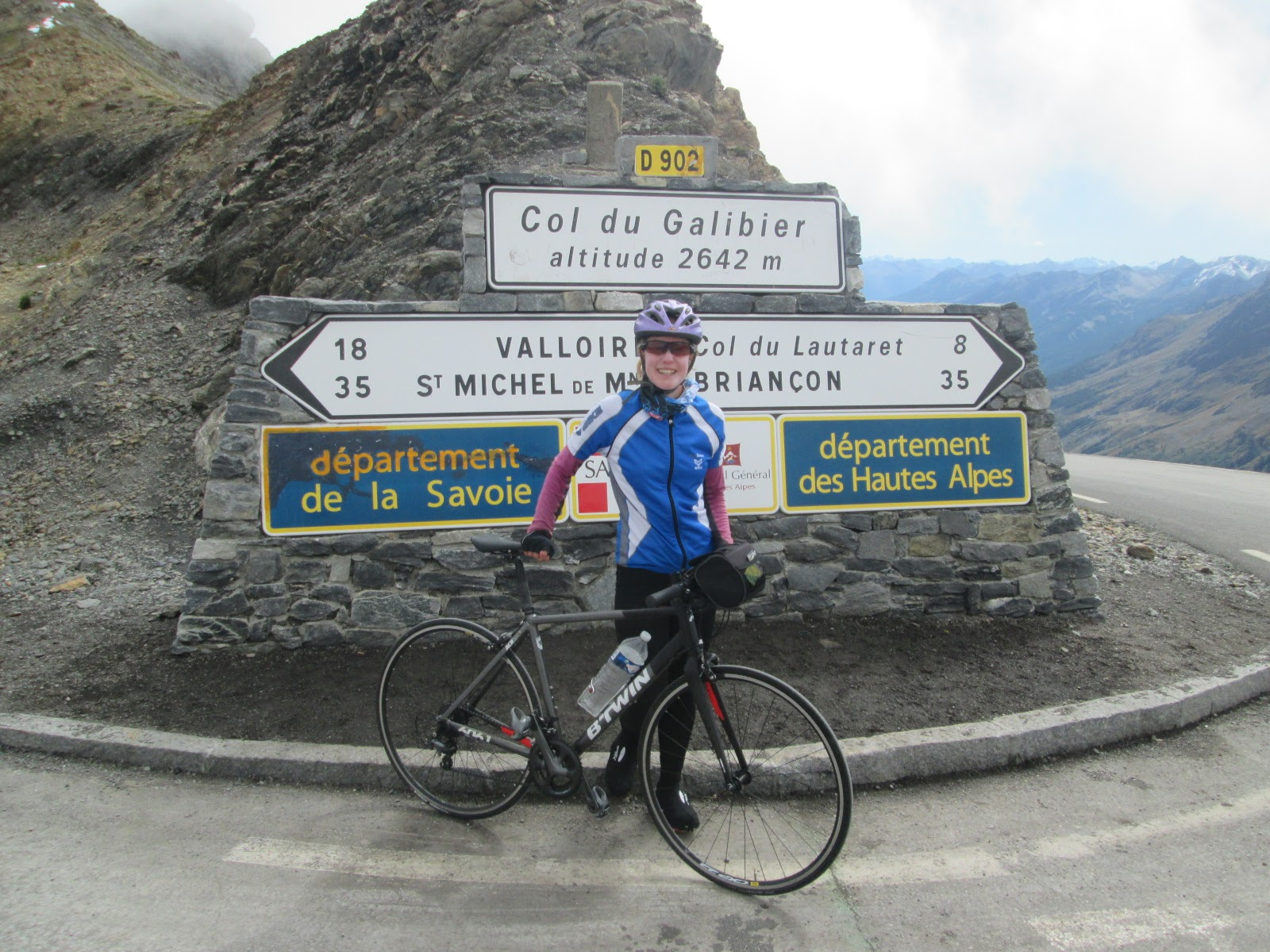 Cycling the Col du Galibier (2642m) from St Jean du Maurienne via Col du 8349a39ab