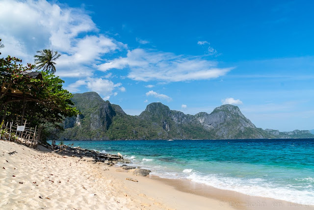 Helicopter-beach-Archipel-de-Bacuit-Palawan-Philippines