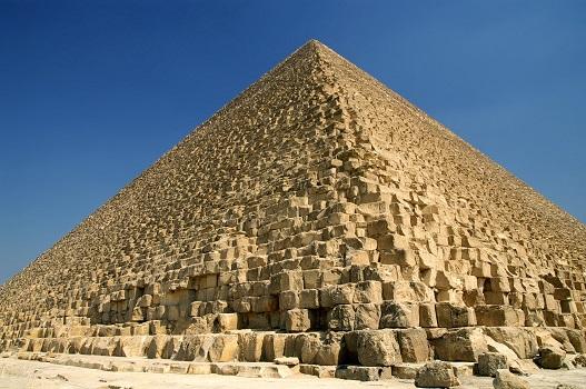 Ce système de rampe datant de 4 500 ans a peut-être été utilisé pour construire la grande pyramide d'Égypte