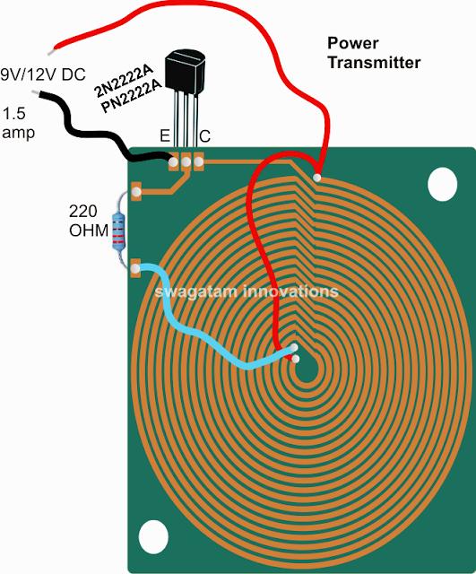 wireless power emitter or radiator design