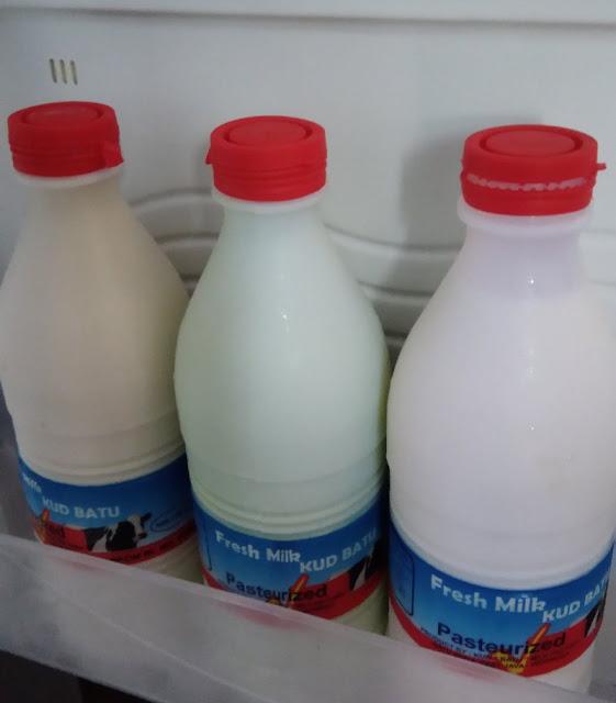 Susu Pasteurisasi di Batu