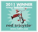 2011 Red tricycle award