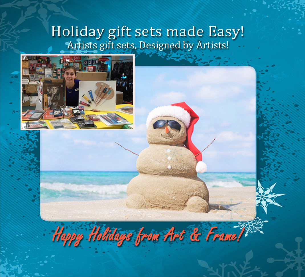 Art & Frame of Sarasota: Holiday gift sets are the best present!