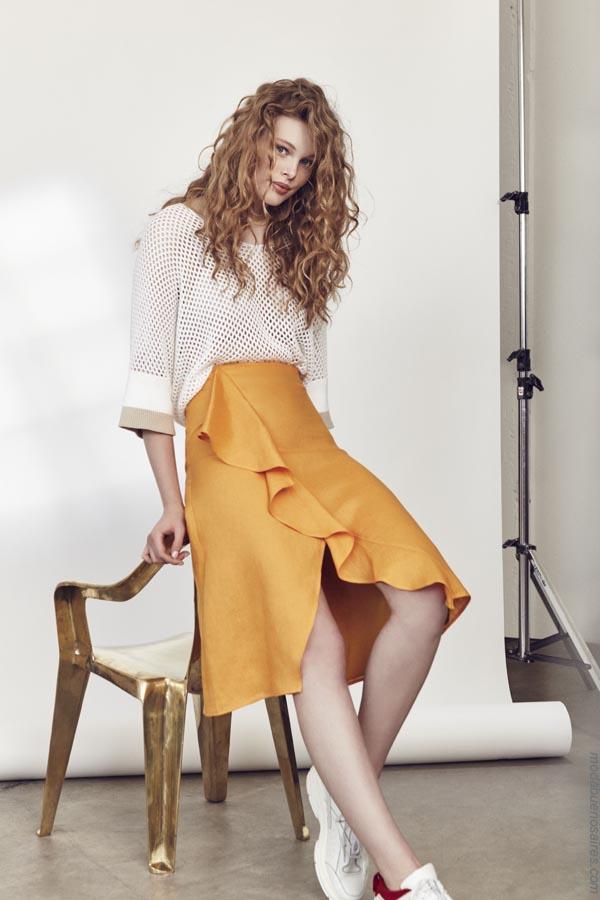 Ropa de moda mujer verano 2019. Moda mujer verano 2019 faldas.