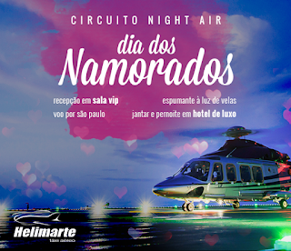 Concurso Circuito Night Air - Dia dos Namorados