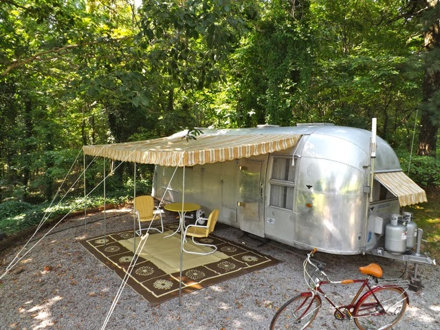 Vintage Awnings: Stand Out From the Vintage Trailer Crowd