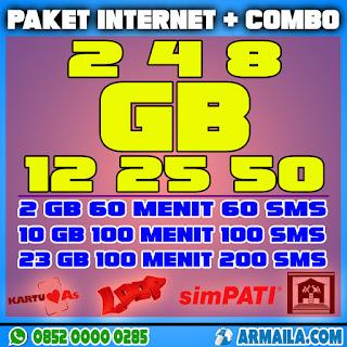 Paket Internet dan Combo Armaila
