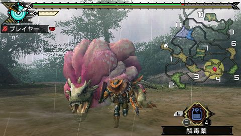 Monster Hunter Portable 3rd - Purple Royal Ludroth Subspecies