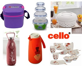 Get 40% Extra Discount on Cello Products@ Pepperfry (Valid till 21st Nov'15)