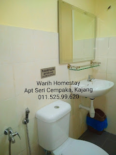 Warih-Homestay-Sri-Cempaka-Kajang-Toilet-In-Master-Bedroom-1