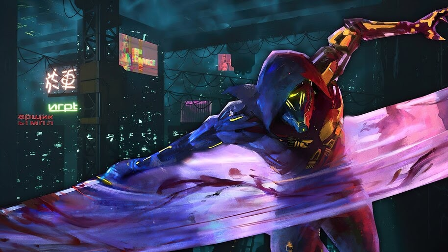 Ghostrunner, Game, Art, 4K, #5.2012