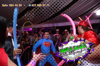 Bodas campestre desde salon la hacienda tematica super heroes