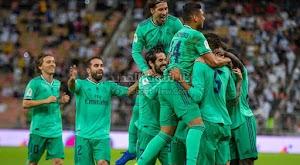 ريال مدريد يتفوق بفوز كاسح على فالنسيا يتاهل لنهائي كأس السوبر الاسباني