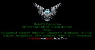 situs malaysia kena hack indonesia