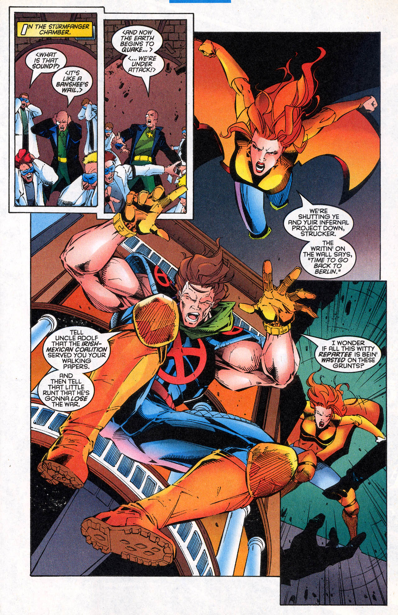 Read online X-Force (1991) comic -  Issue #64 - 25