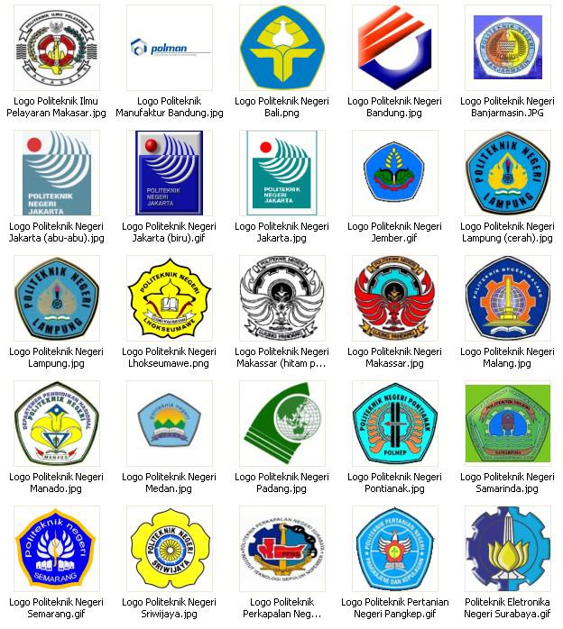 Download Logo Politeknik Negeri Di Indonesia | bliyanbayem