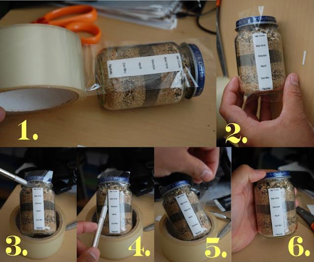 Knocking It Off Cool Ideas Sand Jars