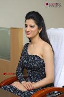 Telugu Actress Richa Panai Stills in One Shoulder Floral Long Dress at Rakshaka Bhatudu Movie Interview  0164.JPG