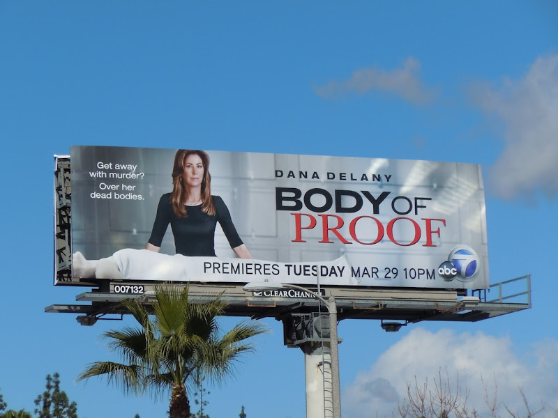 Body of Proof TV billboard