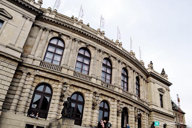 bowdywanders.com Singapore Travel Blog Philippines Photo :: Czech Republic :: Rudolfinum in Prague: No Concert Schedule But Everyone Is Gathering In Front