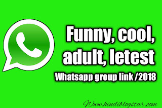 Funny, Cool, Adult] Latest WhatsApp groups Invite Links Collection 2018
