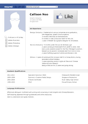 Facebook Profiles The New Resume? How to Toe the Public and Private lines online.
