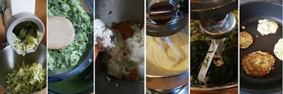Zubereitung Zucchinipuffer