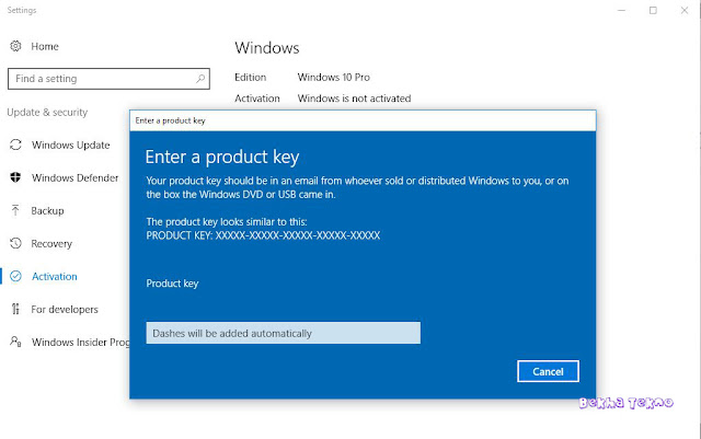 windows 10 minta register