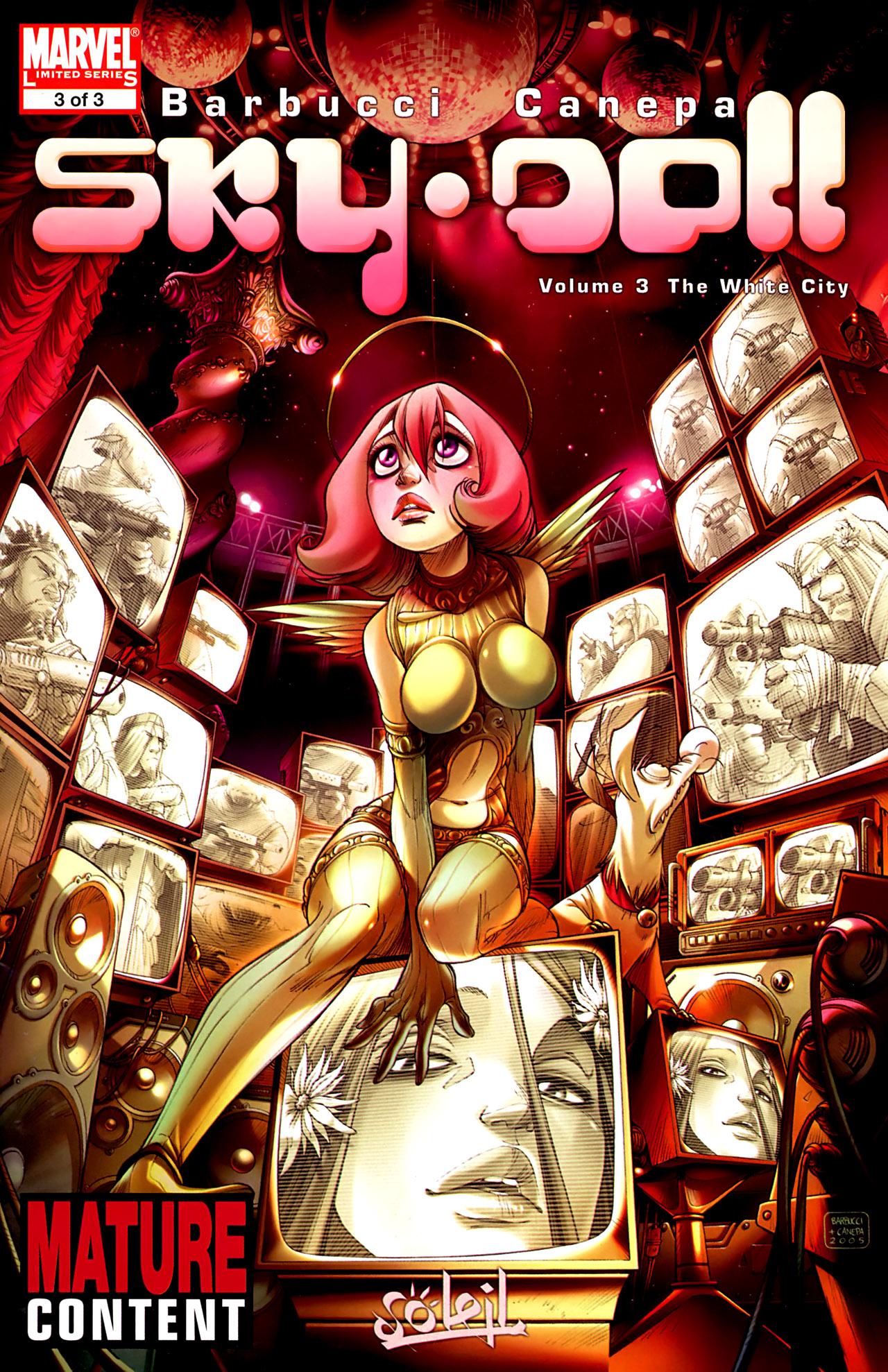 Read online Sky Doll comic -  Issue #3 - 1