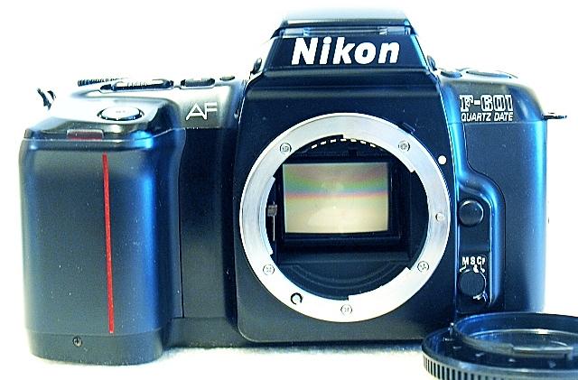 Nikon F-601, Front