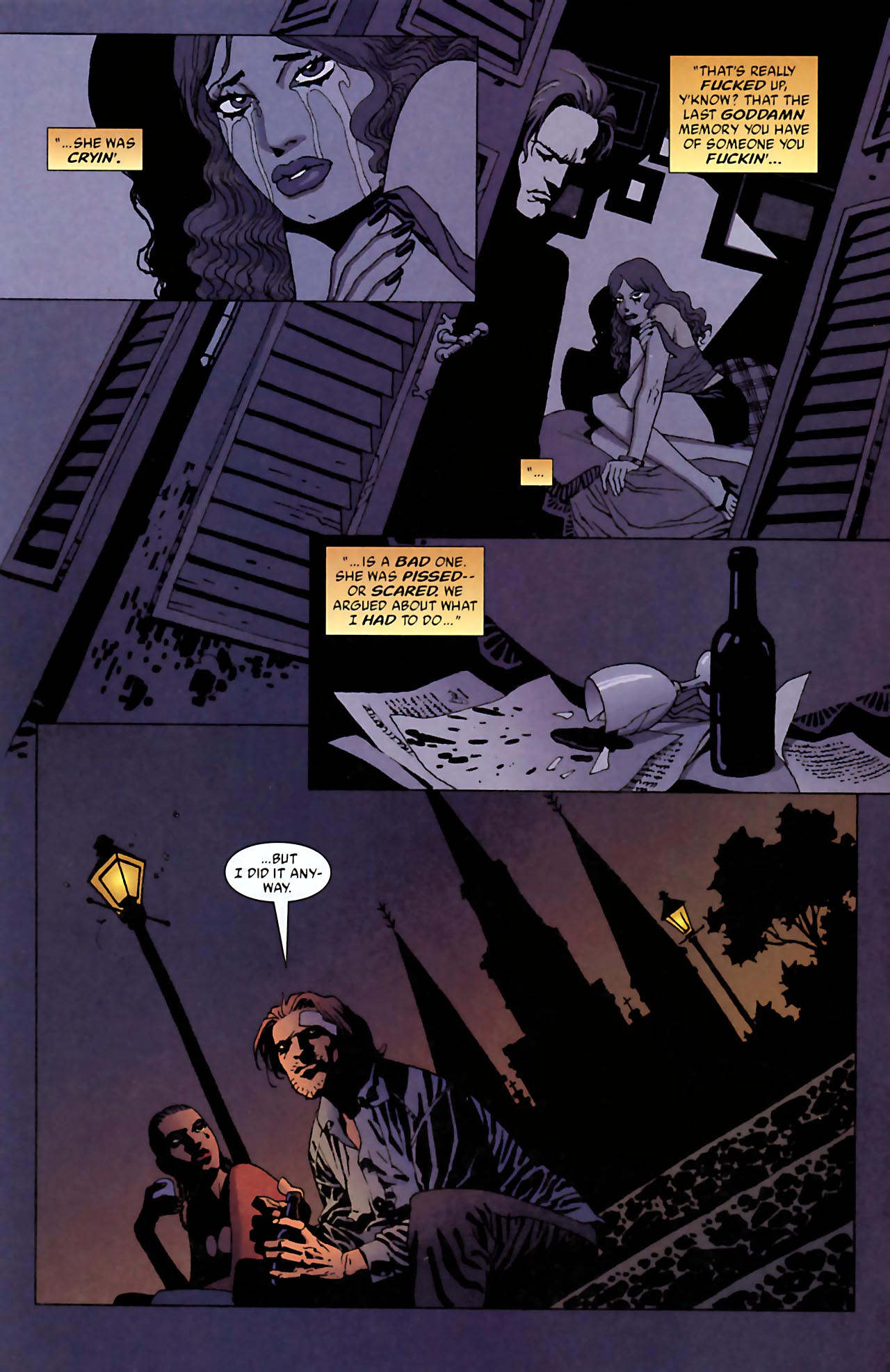 Read online 100 Bullets comic -  Issue #52 - 11
