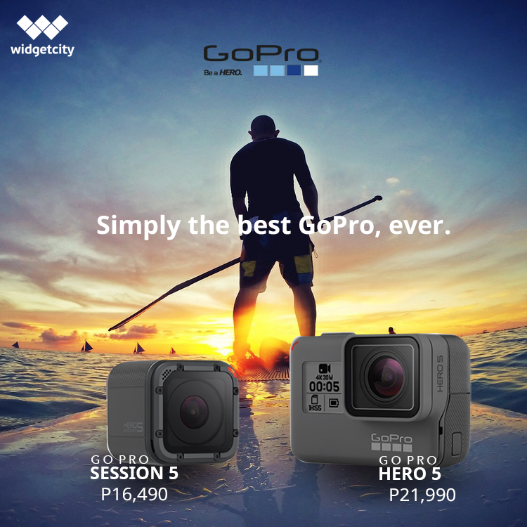Go Pro Hero 5 and Session 5