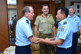 Delegasi RAAF Joint Working Group