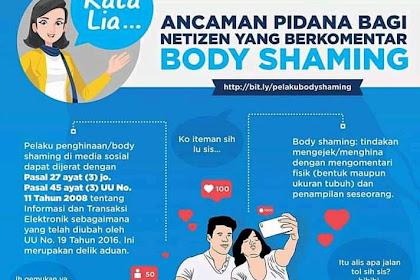 Hukuman Netizen Yang Suka Berkomentar Body Shaming