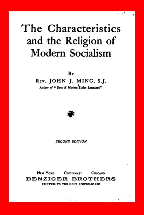 The Political Economy Blog: Socialism is a Religion by the Rev  John
