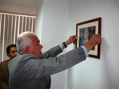 Ex presidente José Mendoza Angulo