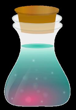dazzling magic potion bottles random girly graphics