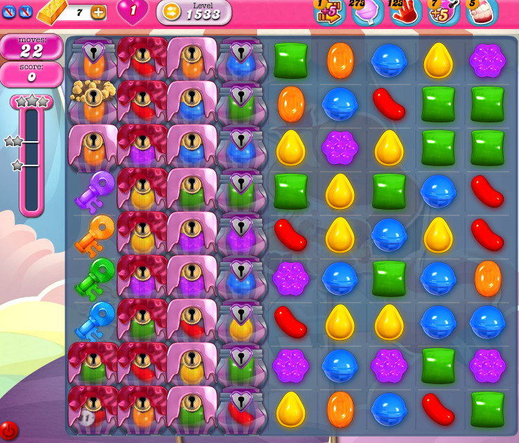 Candy Crush Saga 1533
