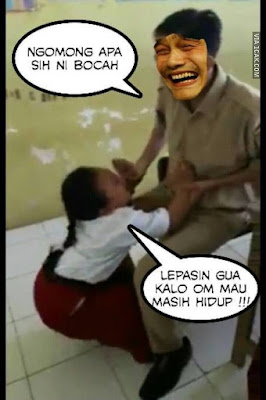 Komik Strip 'Guru SD Bujuk Murid Imunisasi' Ini Bikin Ngakak di Akhir Cerita