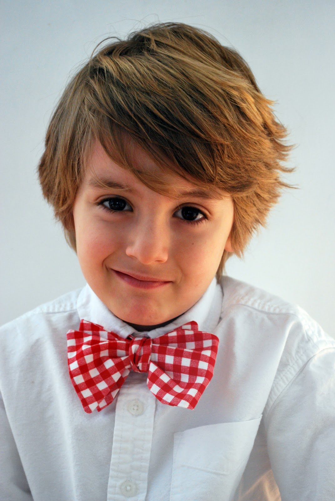 Plain Blood Red Boys Bow Tie from Ties Planet UK  |Bow Ties For Boys